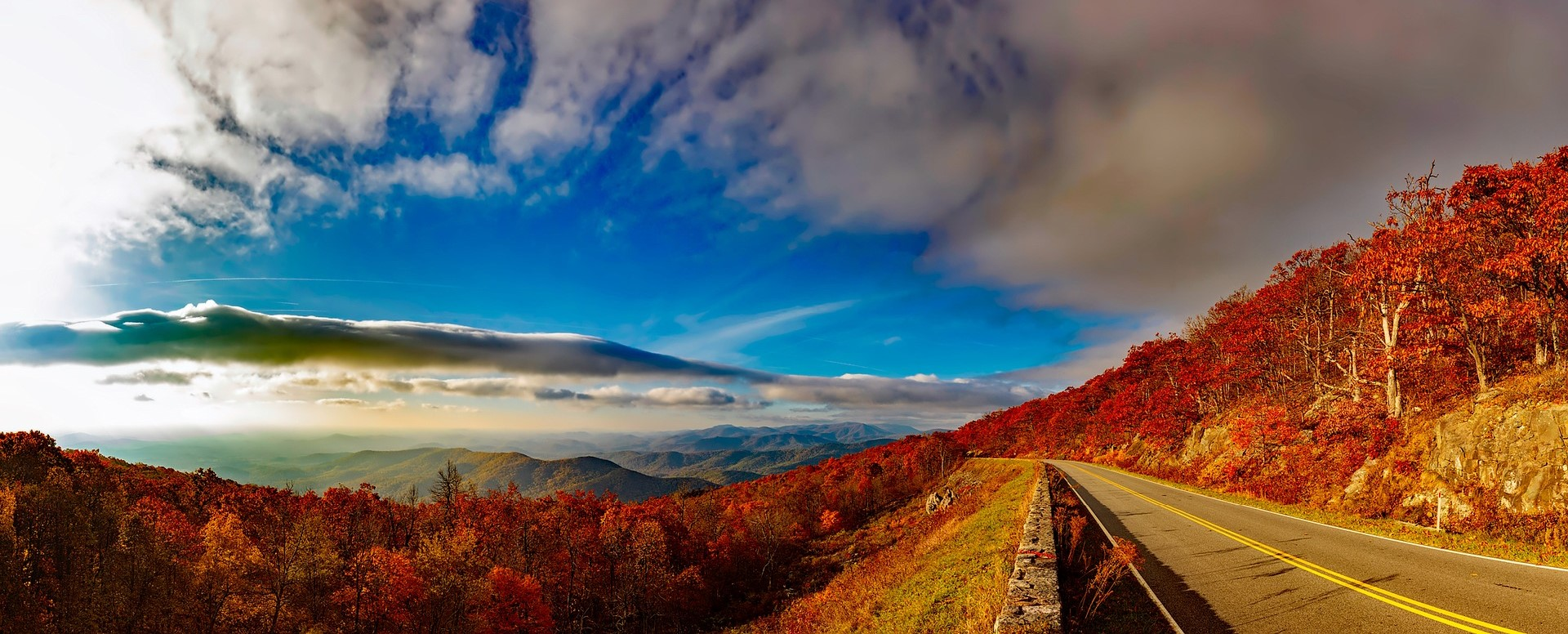 The Blue Ridge Mountains is a part of a larger mountain range located in Virginia | Kids Car Donations