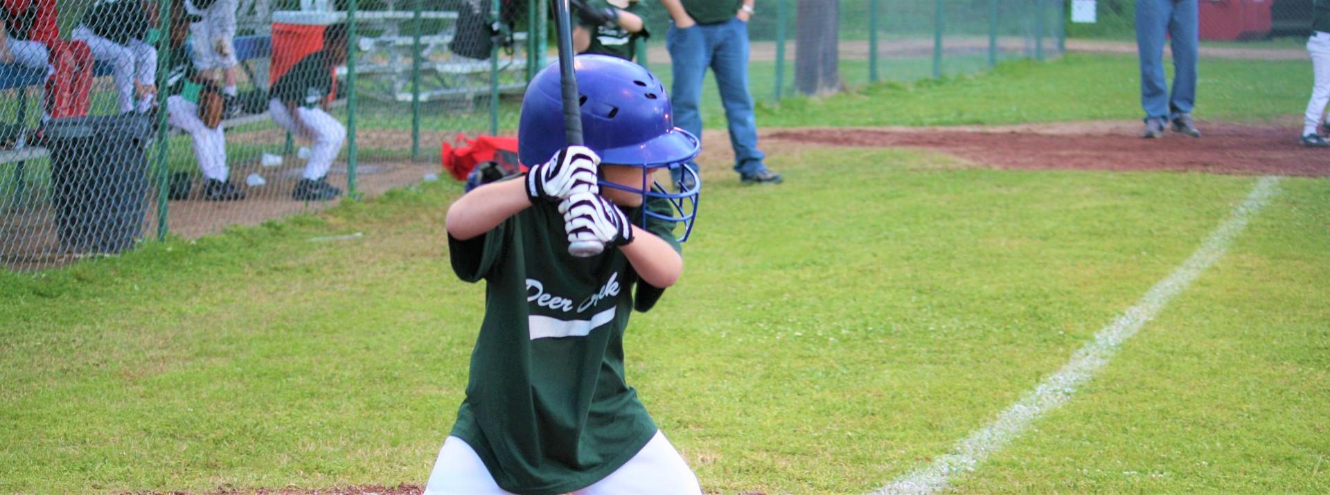 Little Boy Playing Baseball in Wisconsin | Kids Car Donations