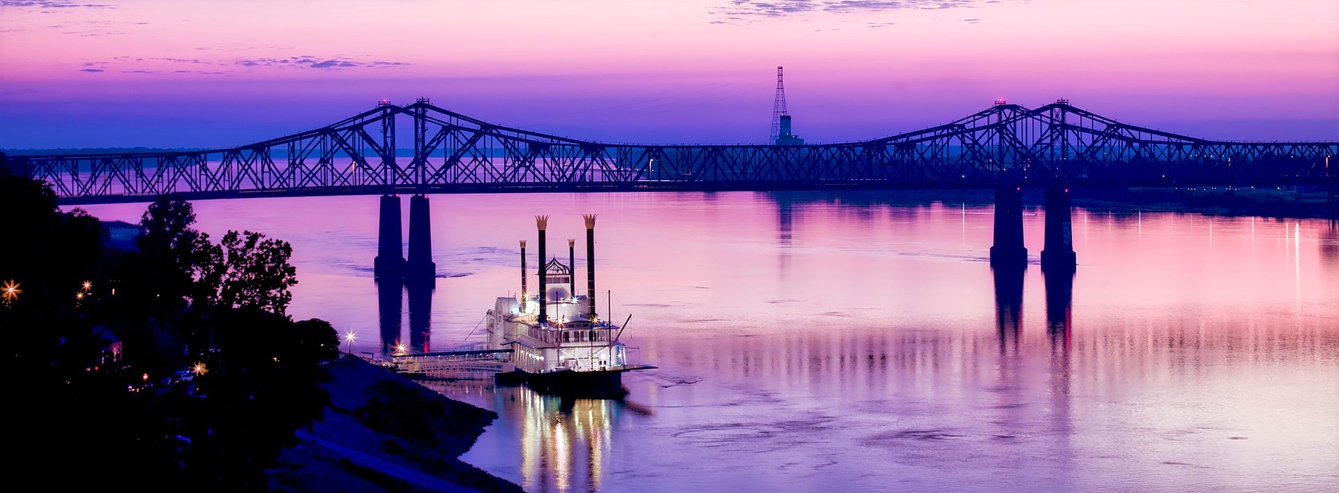 Sunset View of the Mississippi River | Kids Car Donations