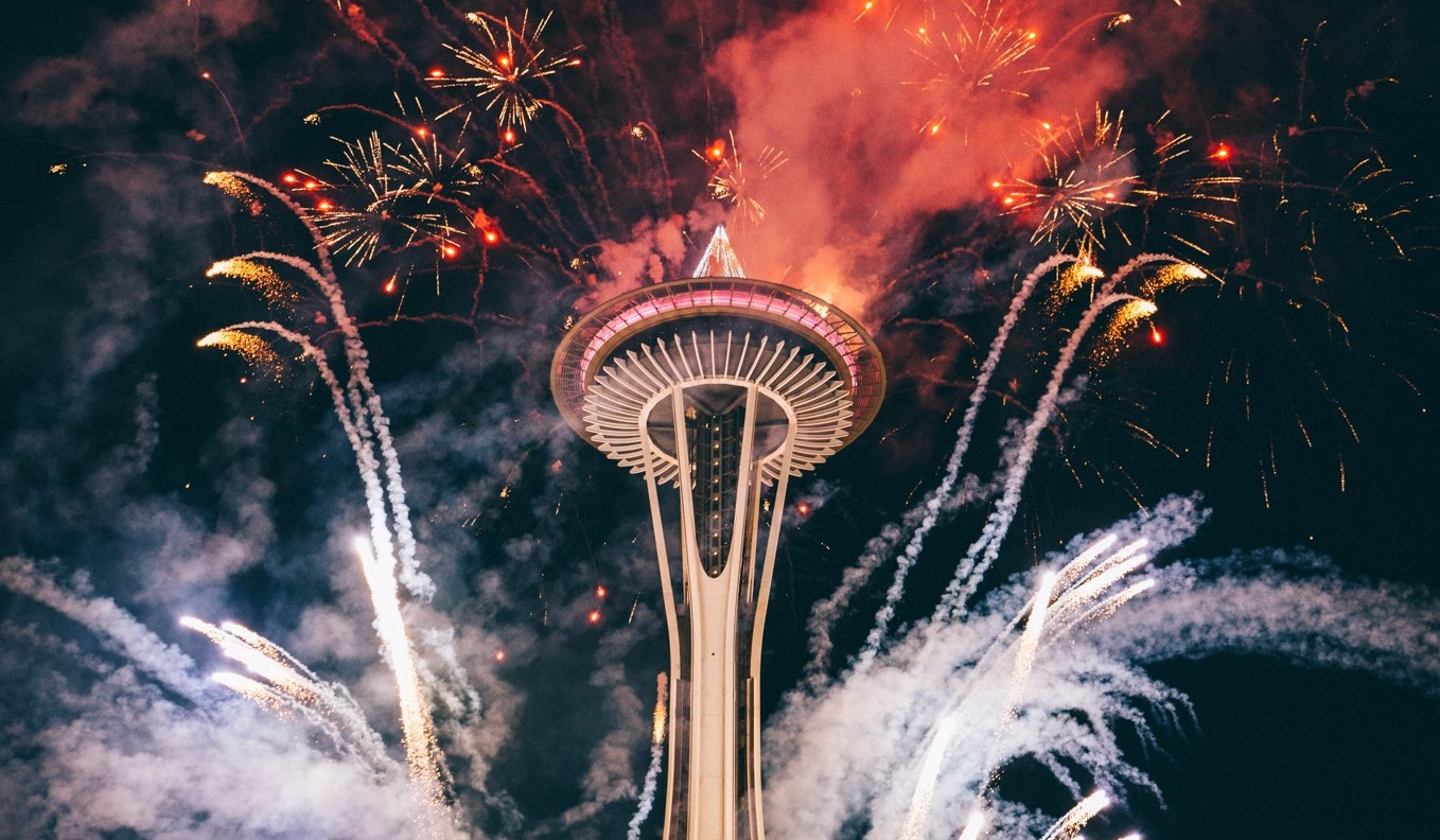 Fireworks at the Space Needle | Kids Car Donations