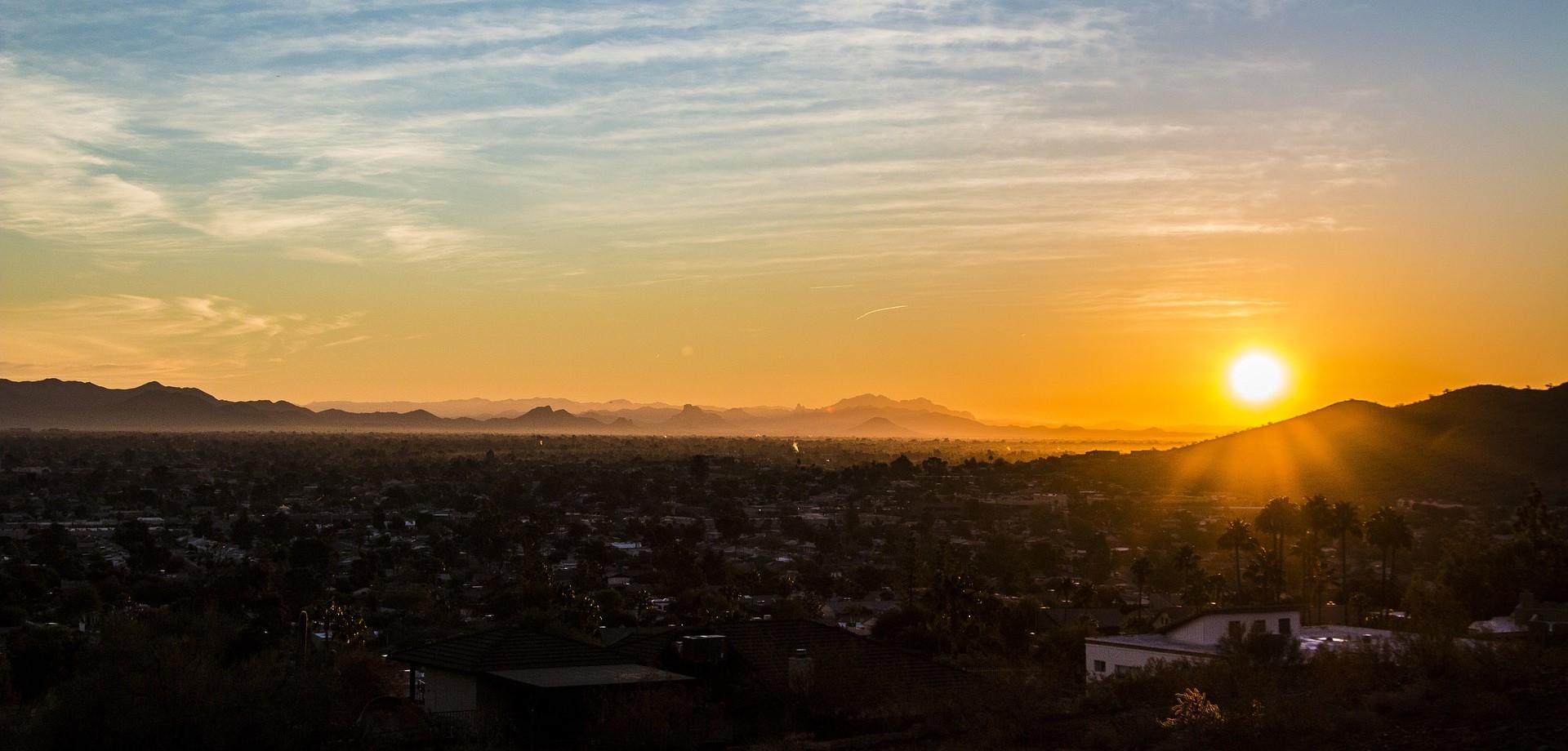 Phoenix, Arizona Sunset | Kids Car Donations