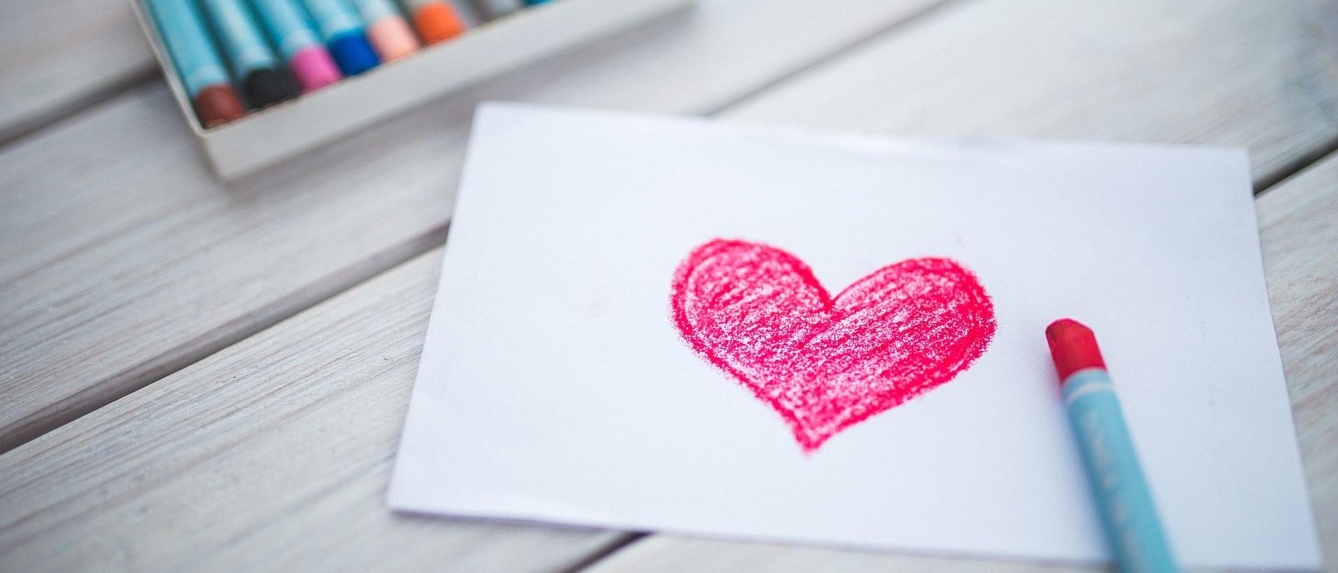 Heart Drawing | Kids Car Donations