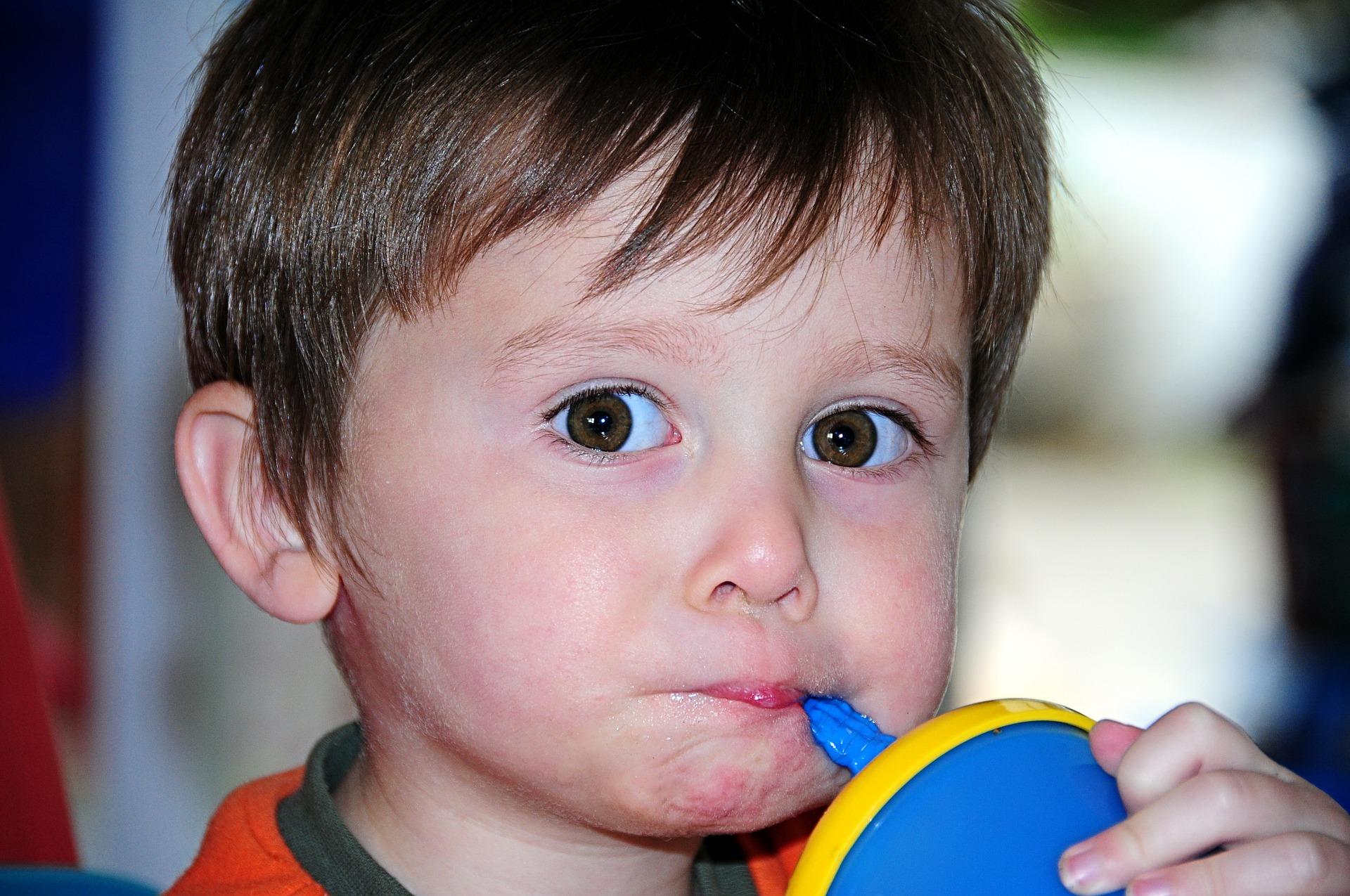Little Boy Drinking   Kids Car Donations