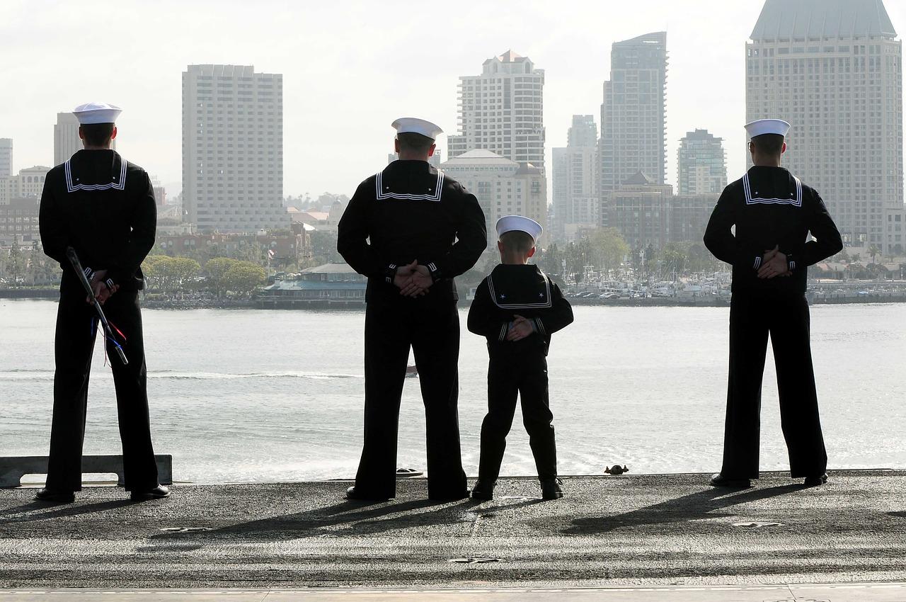 Little Boy with Sailors | Kids Car Donations