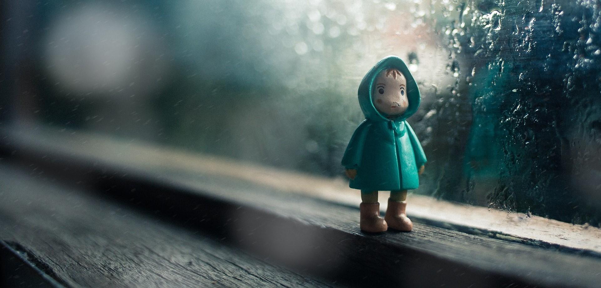 Sad Kid Figure | Kids Car Donations