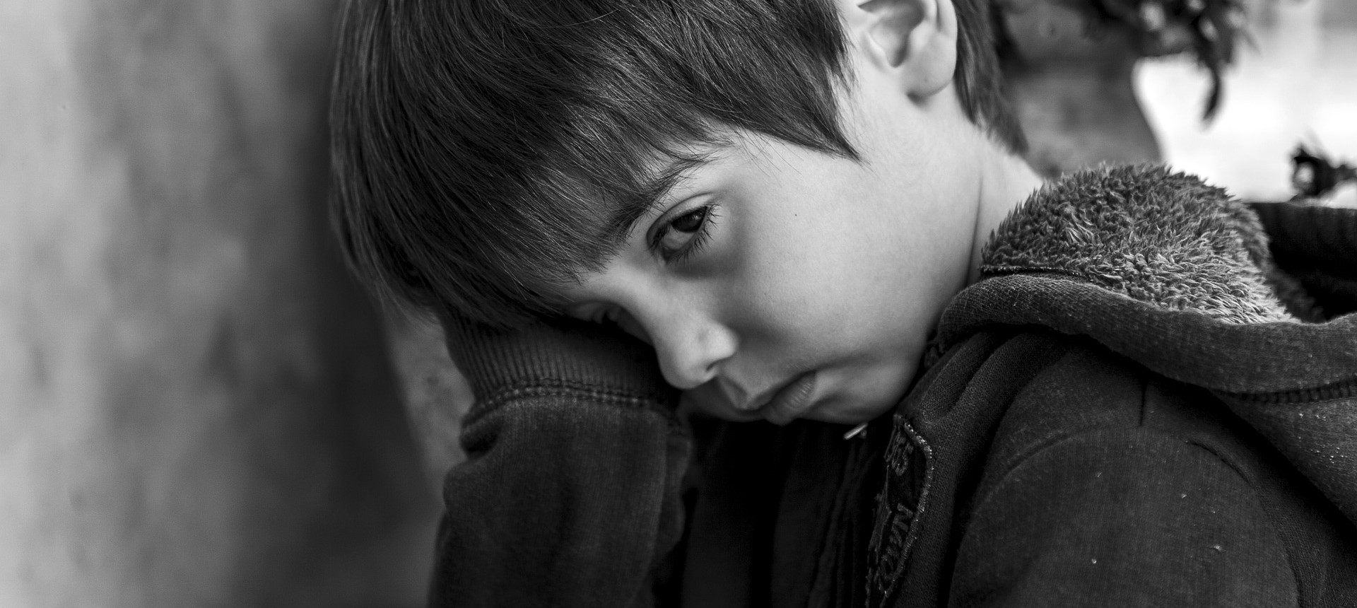 Gloomy Little Boy | Kids Car Donations