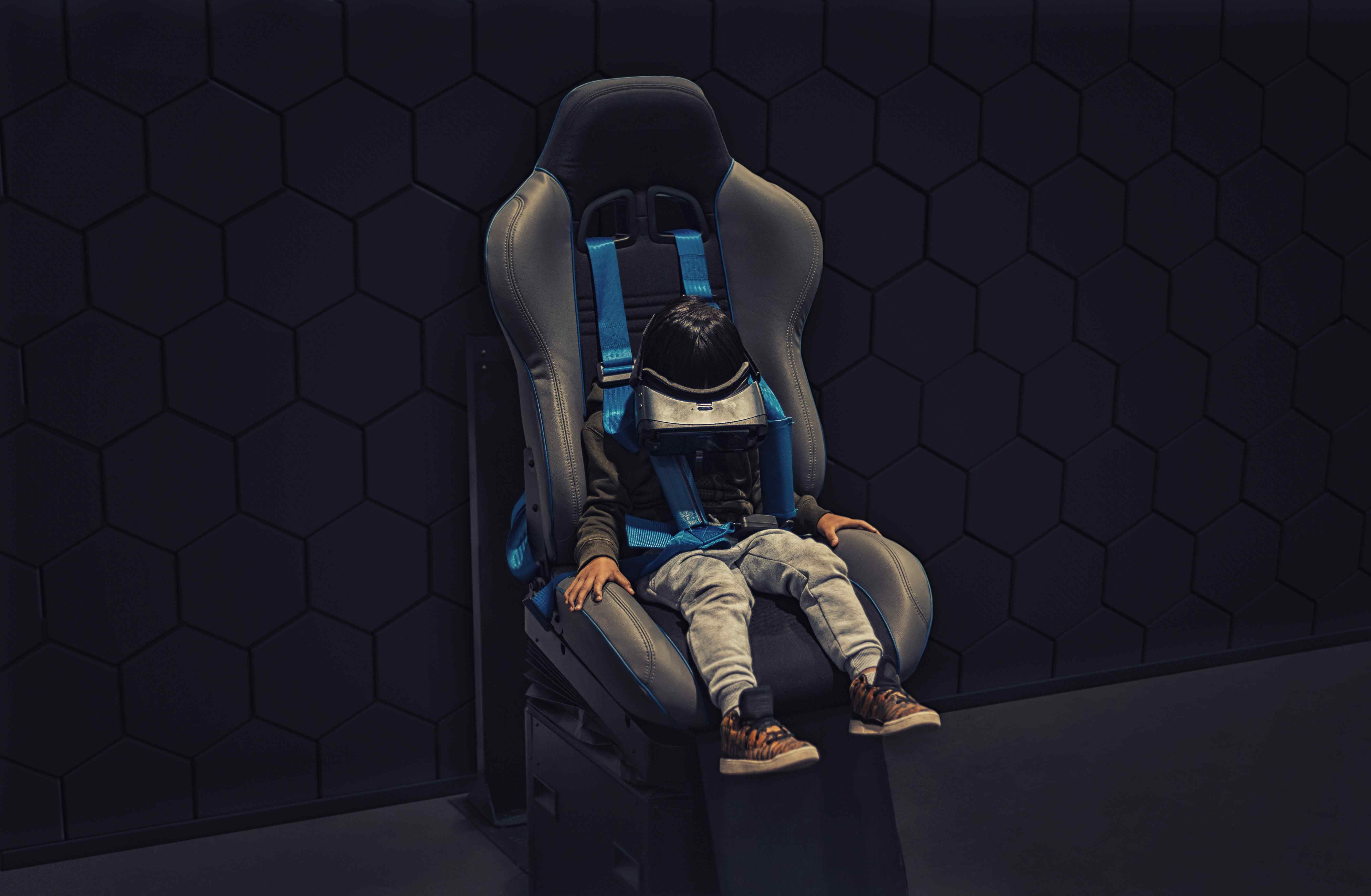 Kid in a Booster Seat | Kids Car Donations
