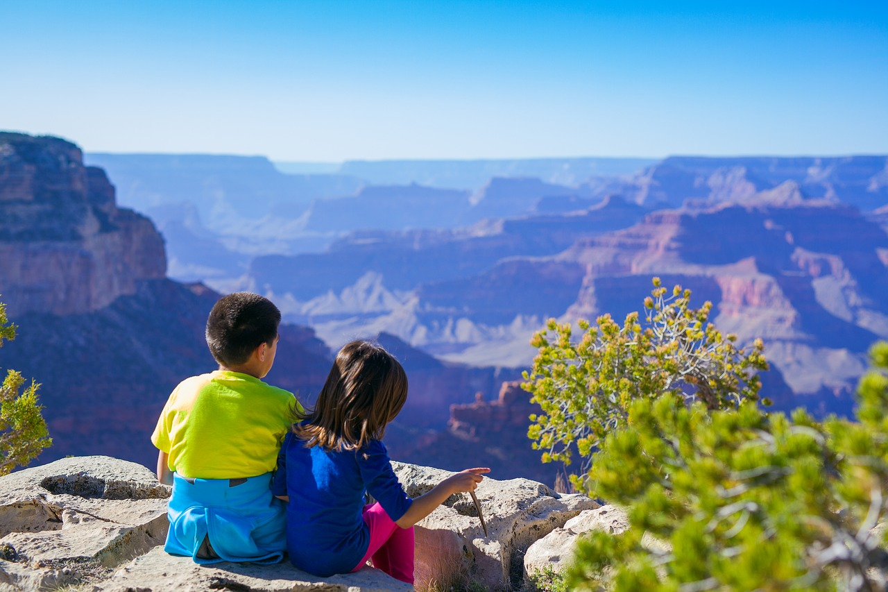 Kids in Grand Canyon | Kids Car Donations