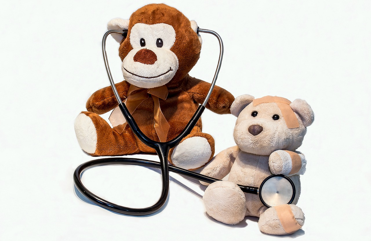 Stuffed Toys with a Stethoscope | Kids Car Donations