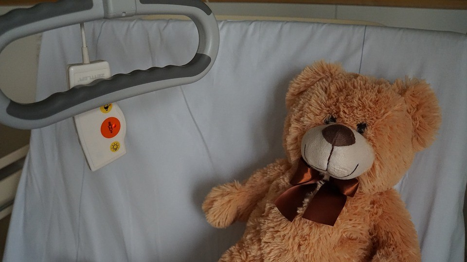 Teddy in the Hospital | Kids Car Donations