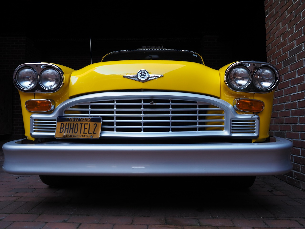 Vintage Yellow Car in New York | Kids Car Donations