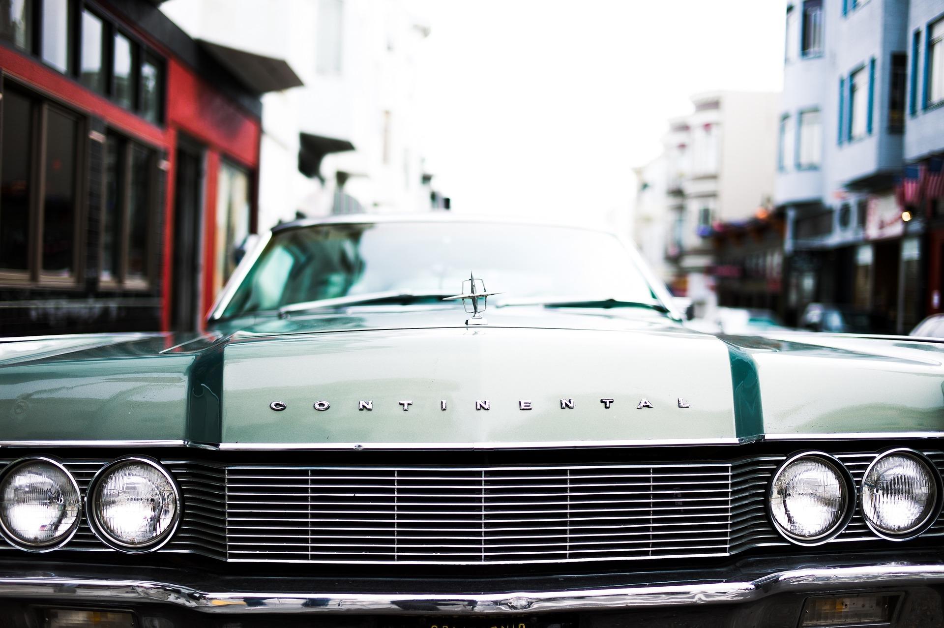 Oldtimer Continental Car   Kids Car Donations