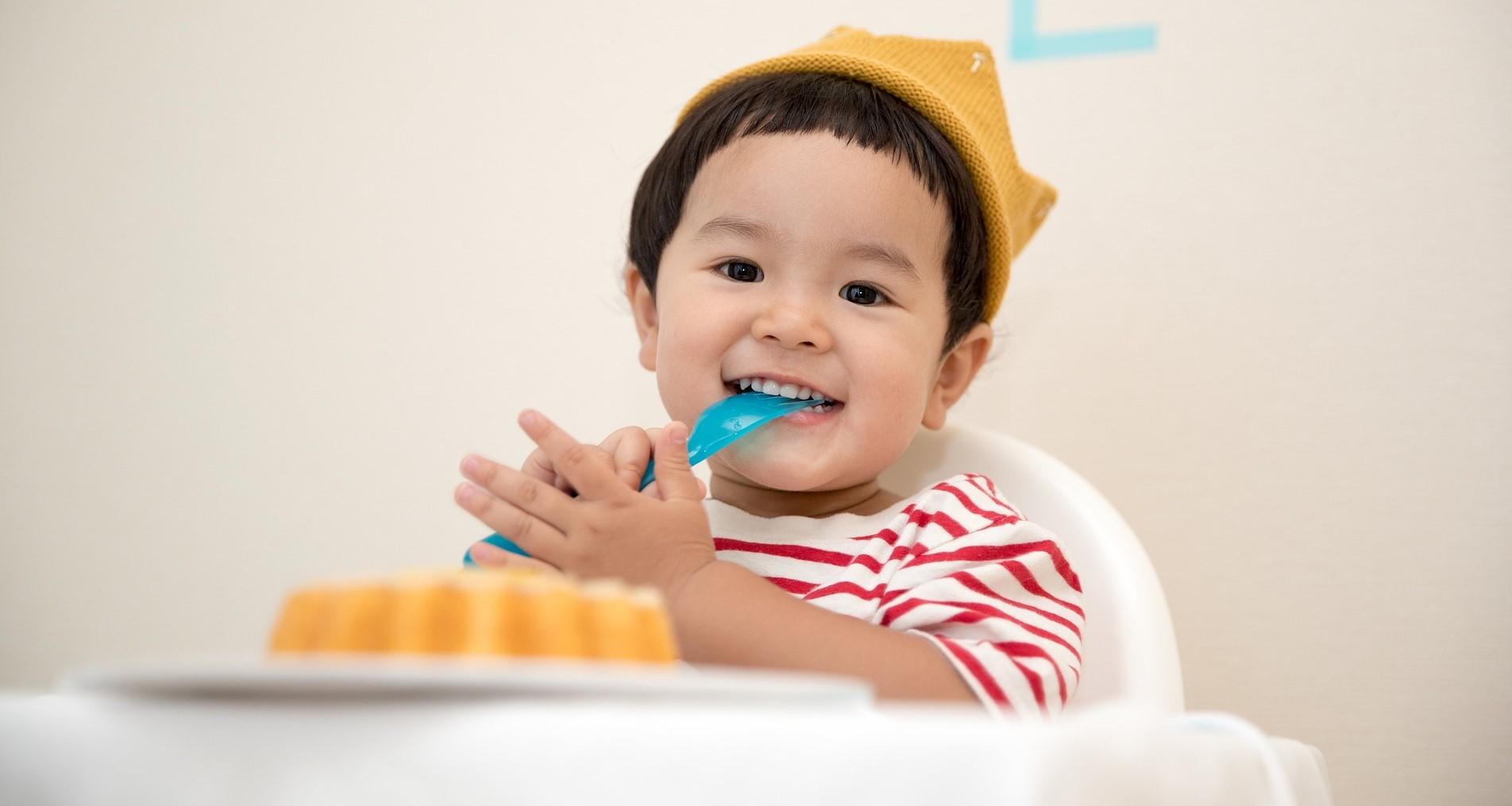 Happy Kid Eating Breakfast | Kids Car Donations