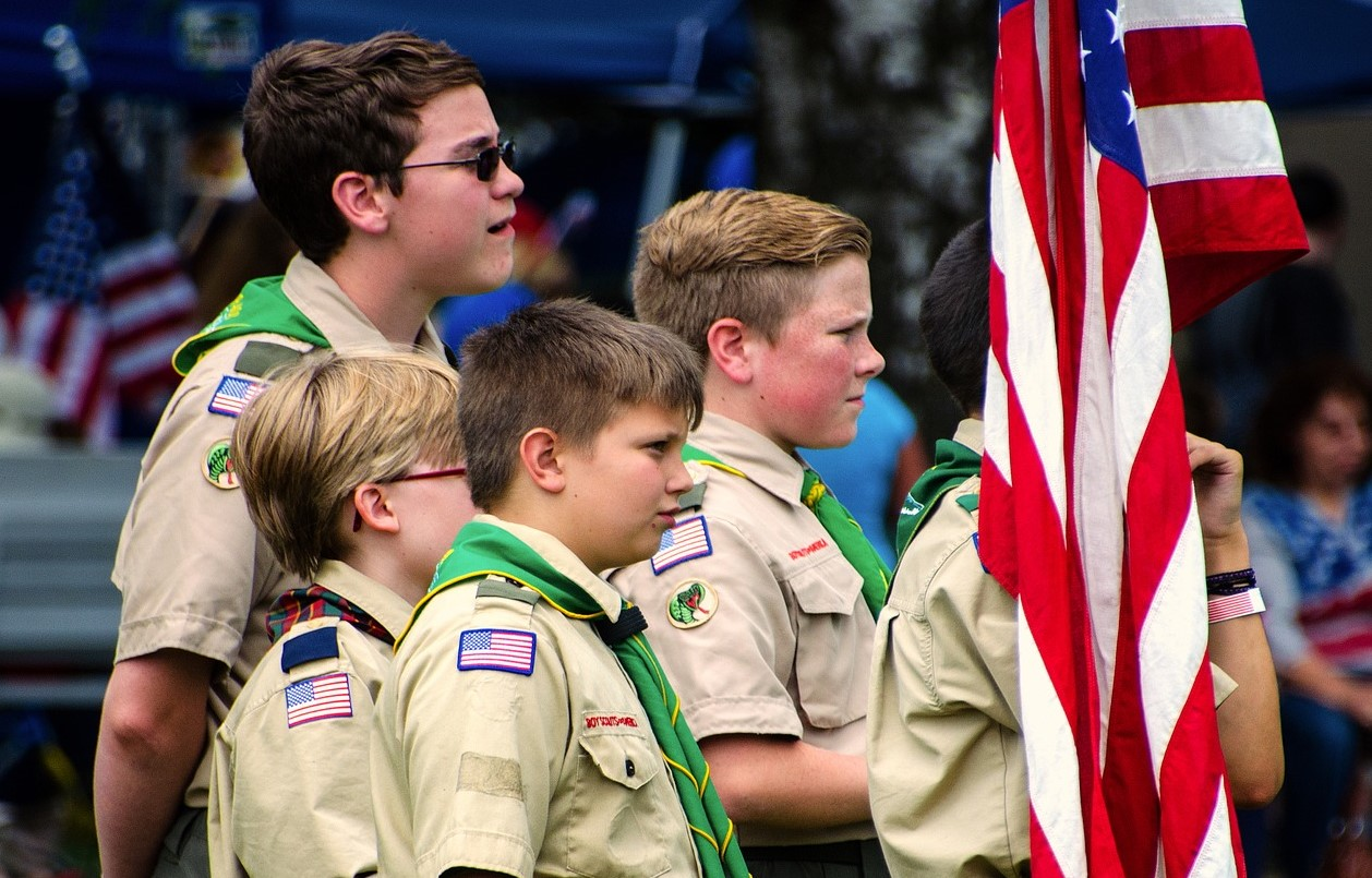 Boy Scouts in Action | Kids Car Donations