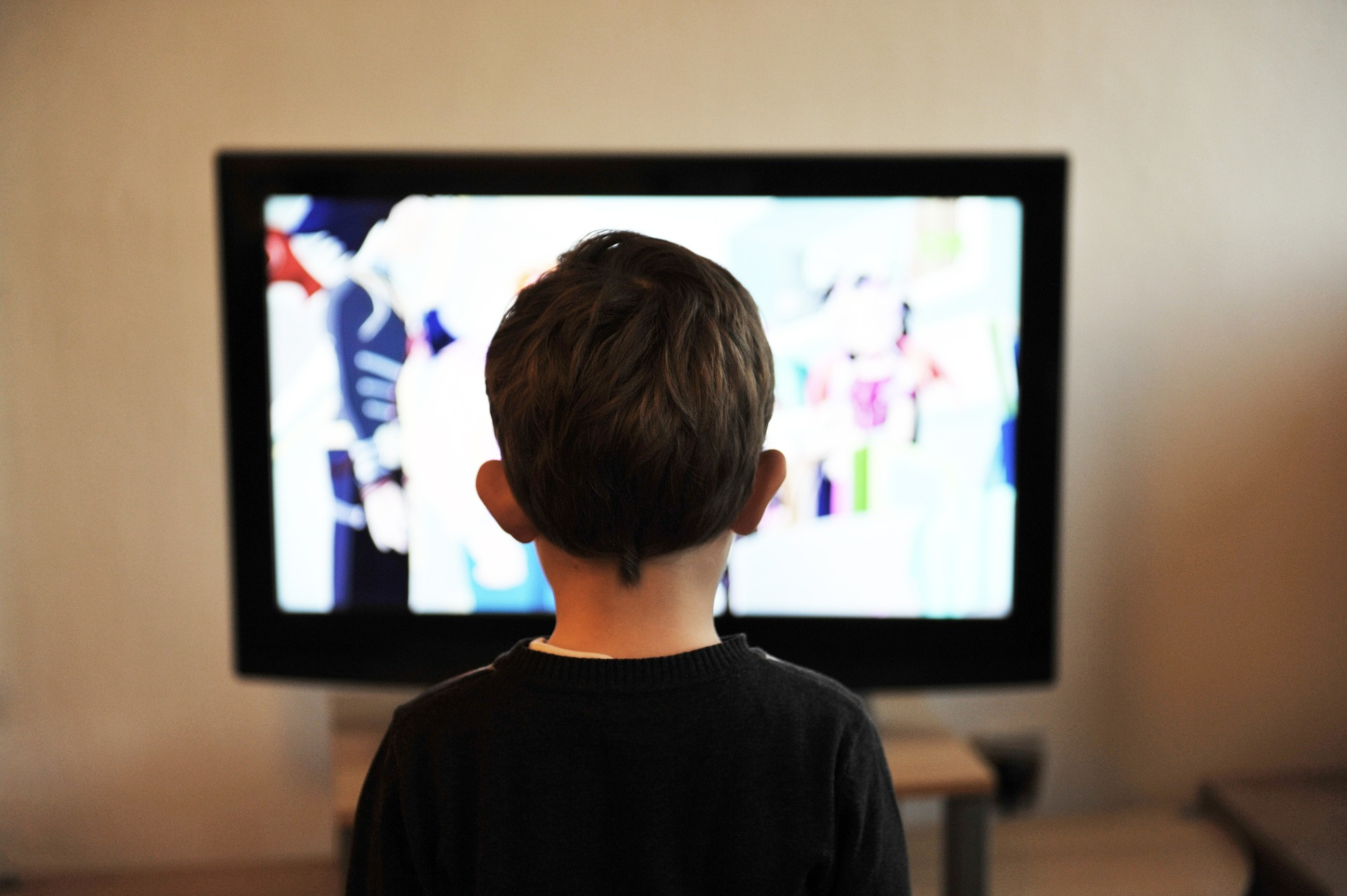 Kid Watching Television | Kids Car Donations