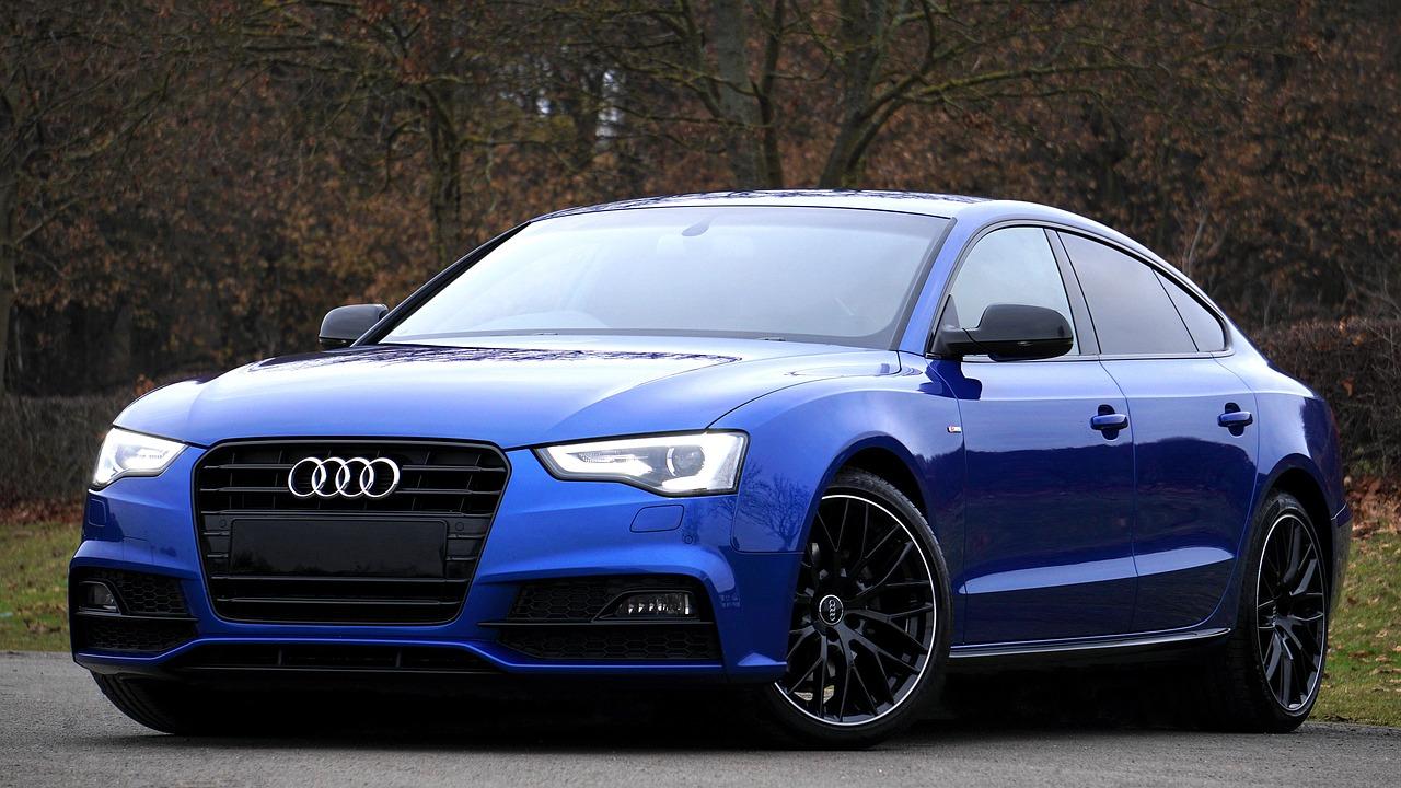 Blue Audi Car | Kids Car Donations