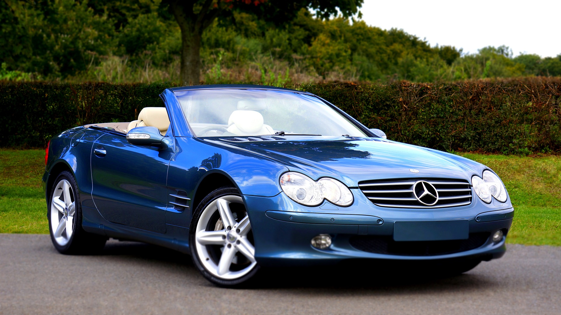 Blue Convertible Mercedes-Benz | Kids Car Donations