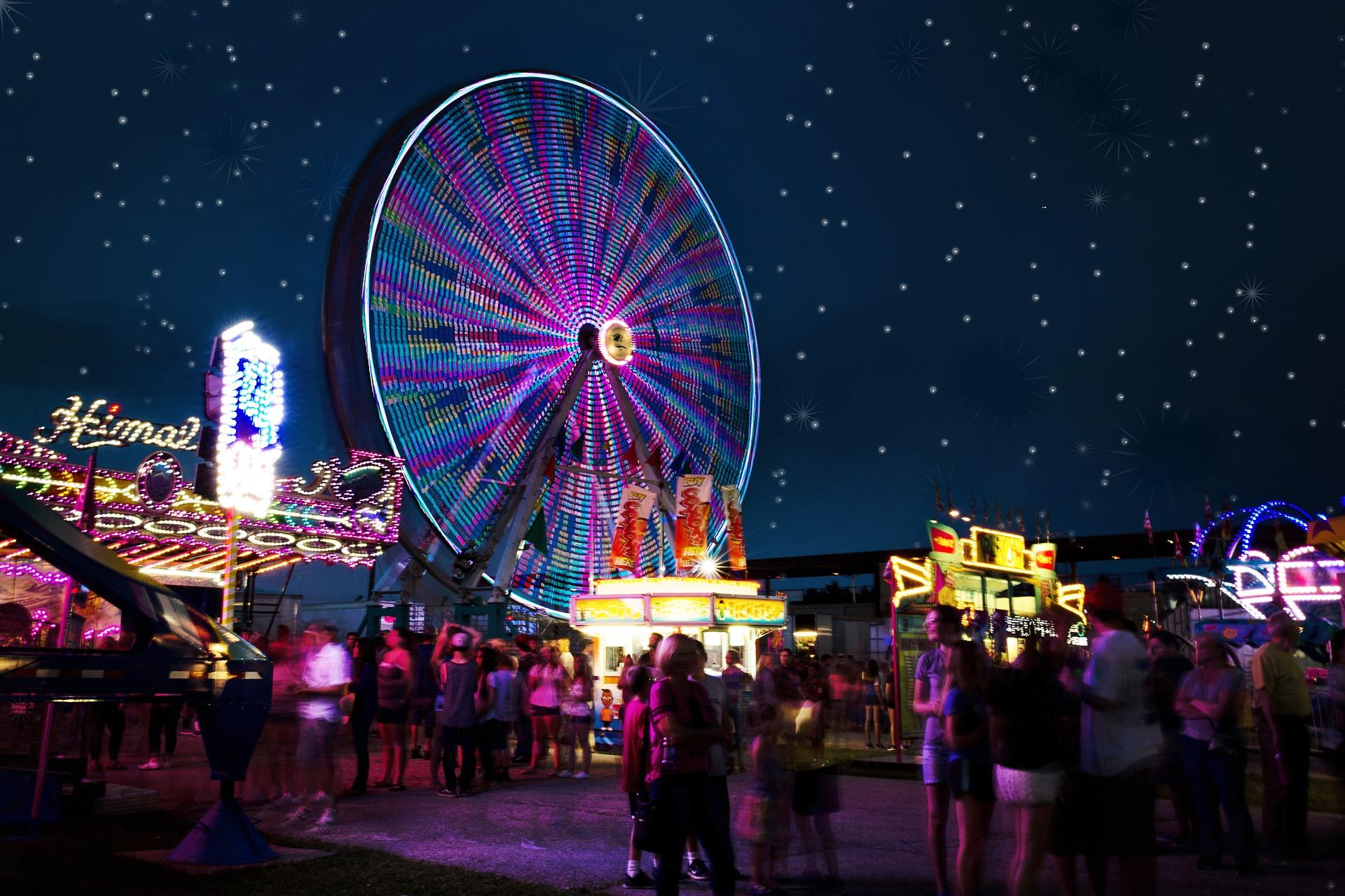Carnival at Night | Kids Car Donations