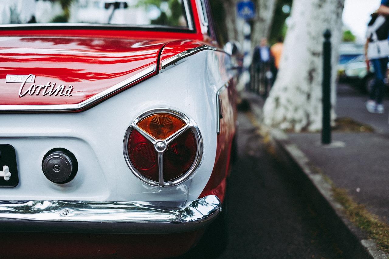 Classic Car - Ford Cortina | Kids Car Donations