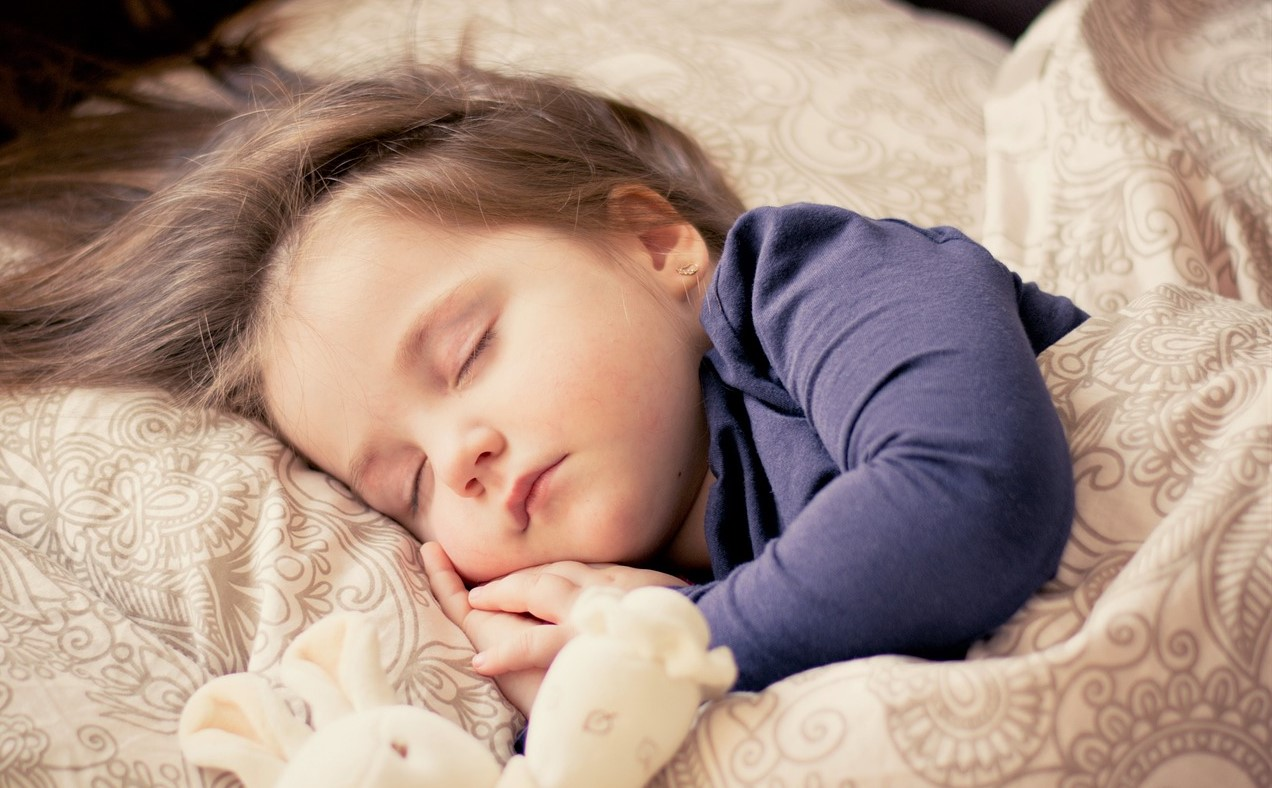 Little Baby Sleeping Comfortably   Kids Car Donations