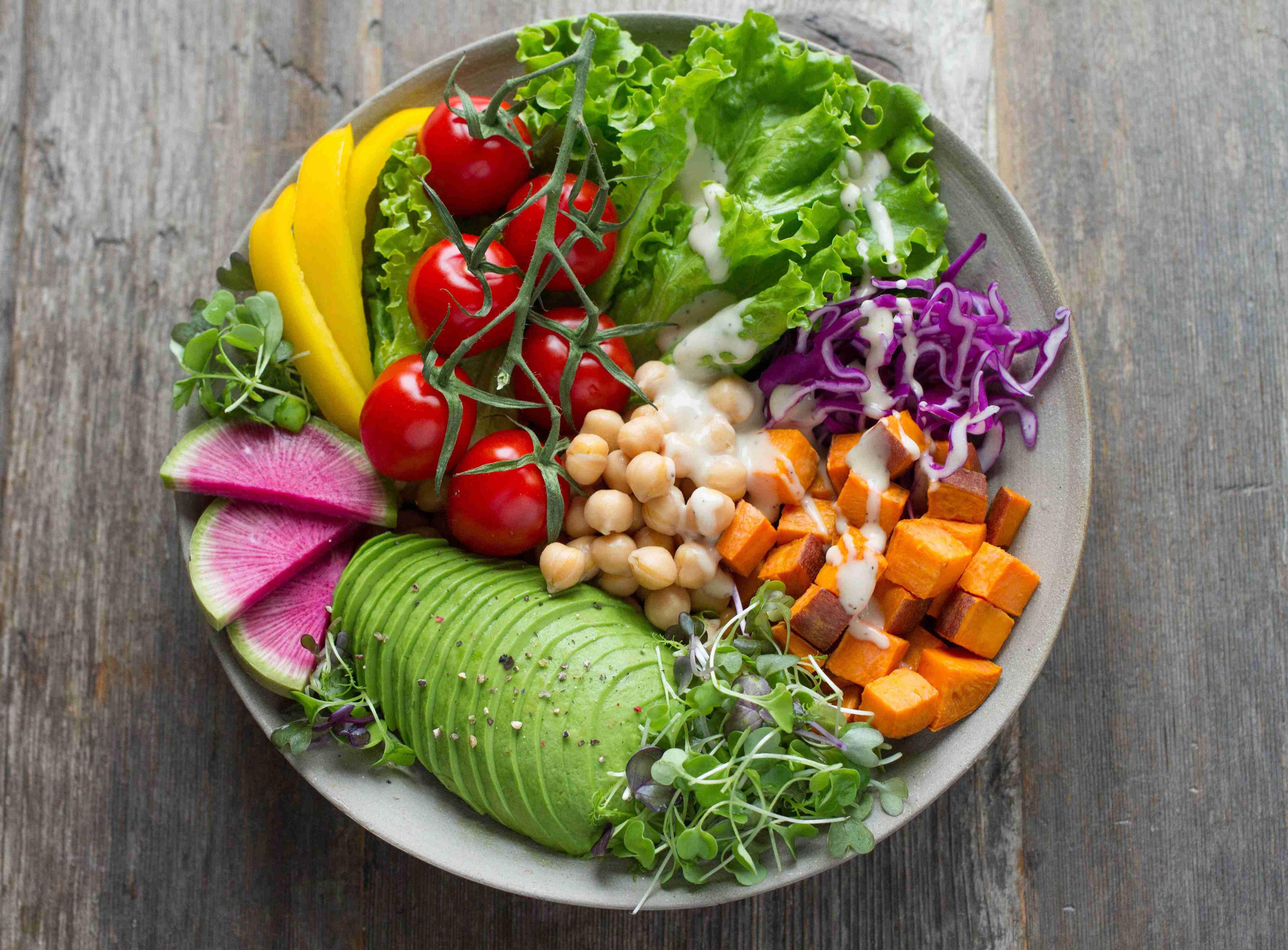 Vegan Salad Bowl | Kids Car Donations