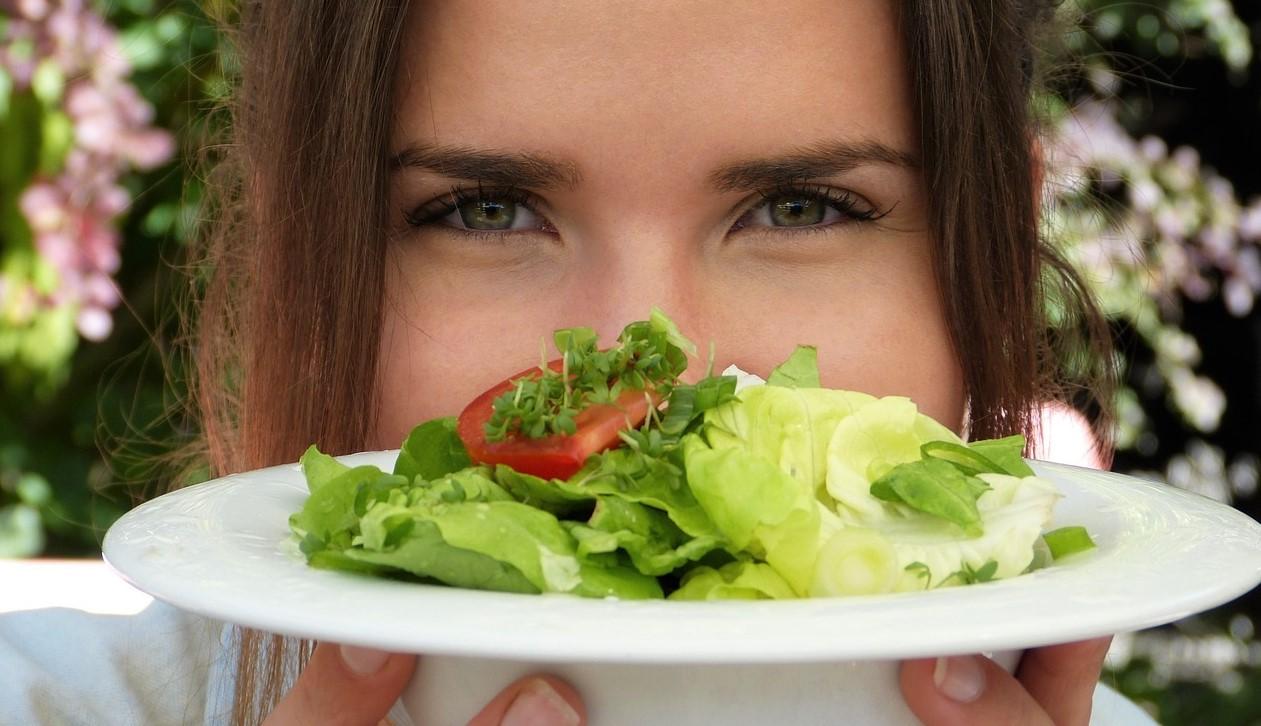 Woman Enjoying The Salad | Kids Car Donations