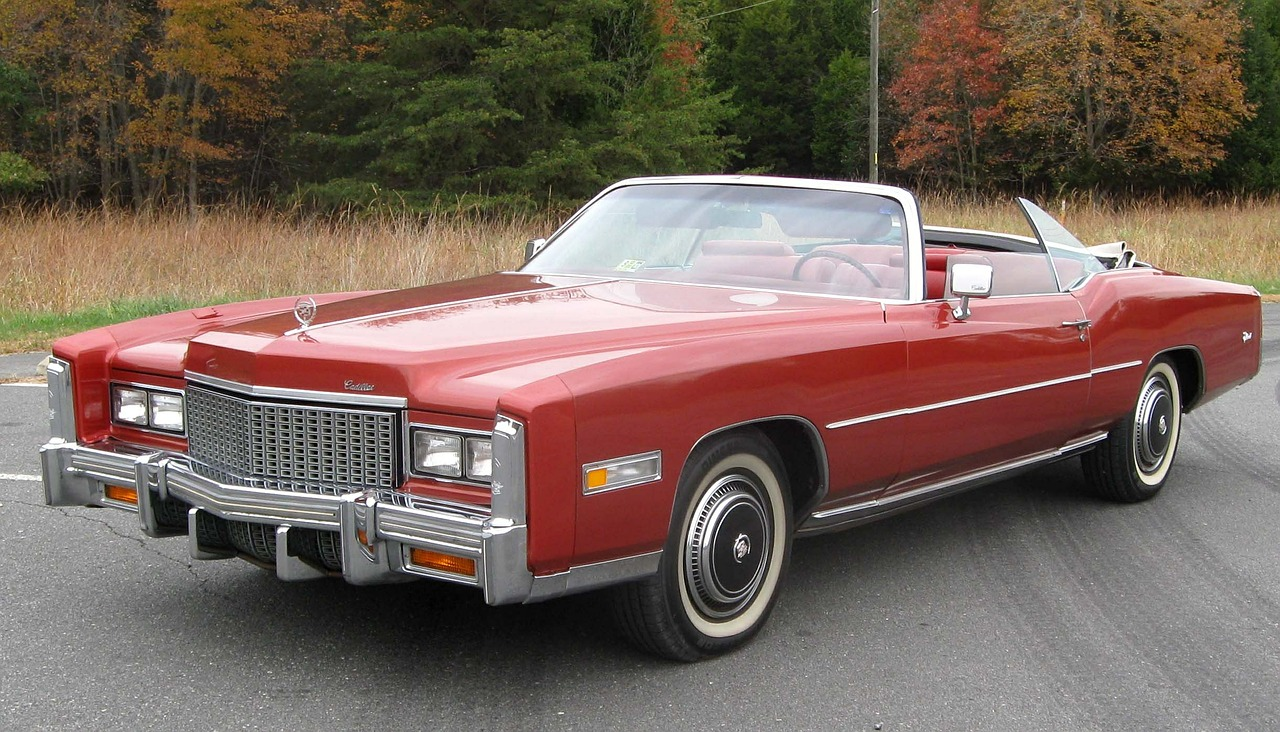 Red Vintage Cadillac Eldorado | Kids Car Donations