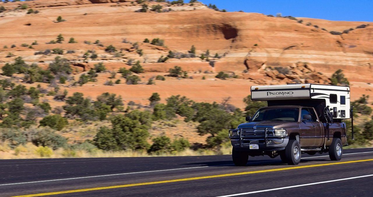 Truck Camper Speeding in a Highway | Kids Car Donations