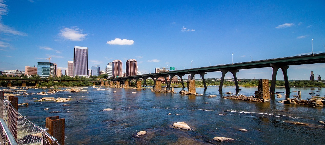 City Bridge in Richmond, Virginia | Kids Car Donations