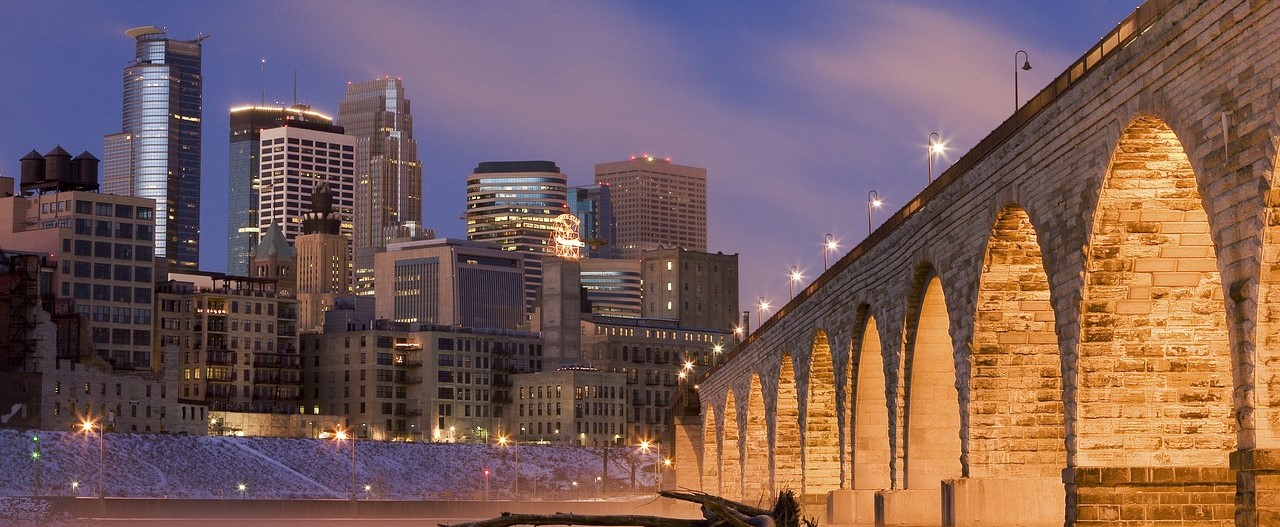City Skyline in Minneapolis, Minnesota   Kids Car Donations