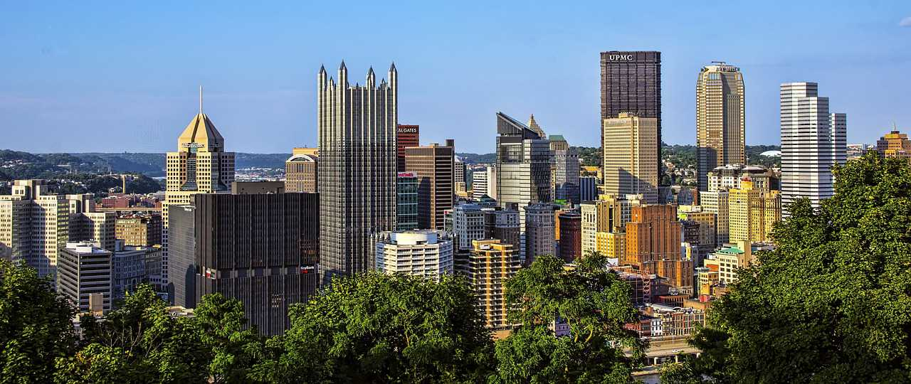 City Skyline Pittsburgh, Pennsylvania   Kids Car Donations