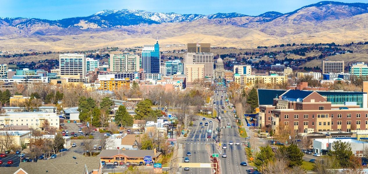 Boise, Idaho Cityscape | Kids Car Donations