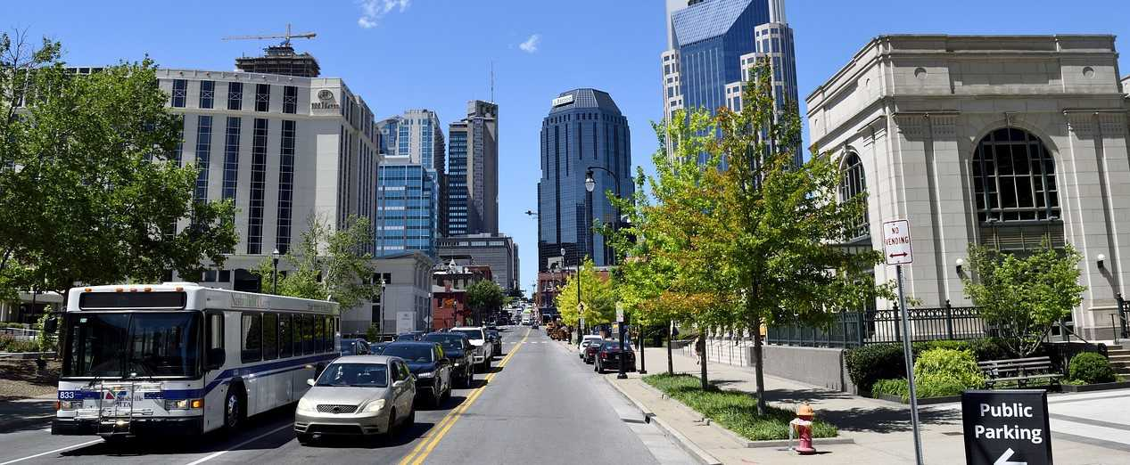 View from Downtown Nashville, Tennessee | Kids Car Donations