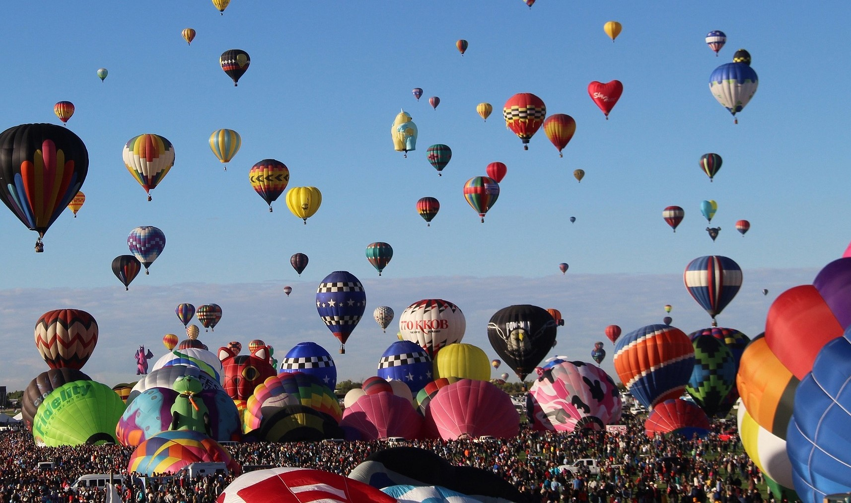 Hot Air Balloon Festival in Albuquerque, New Mexico | Kids Car Donations