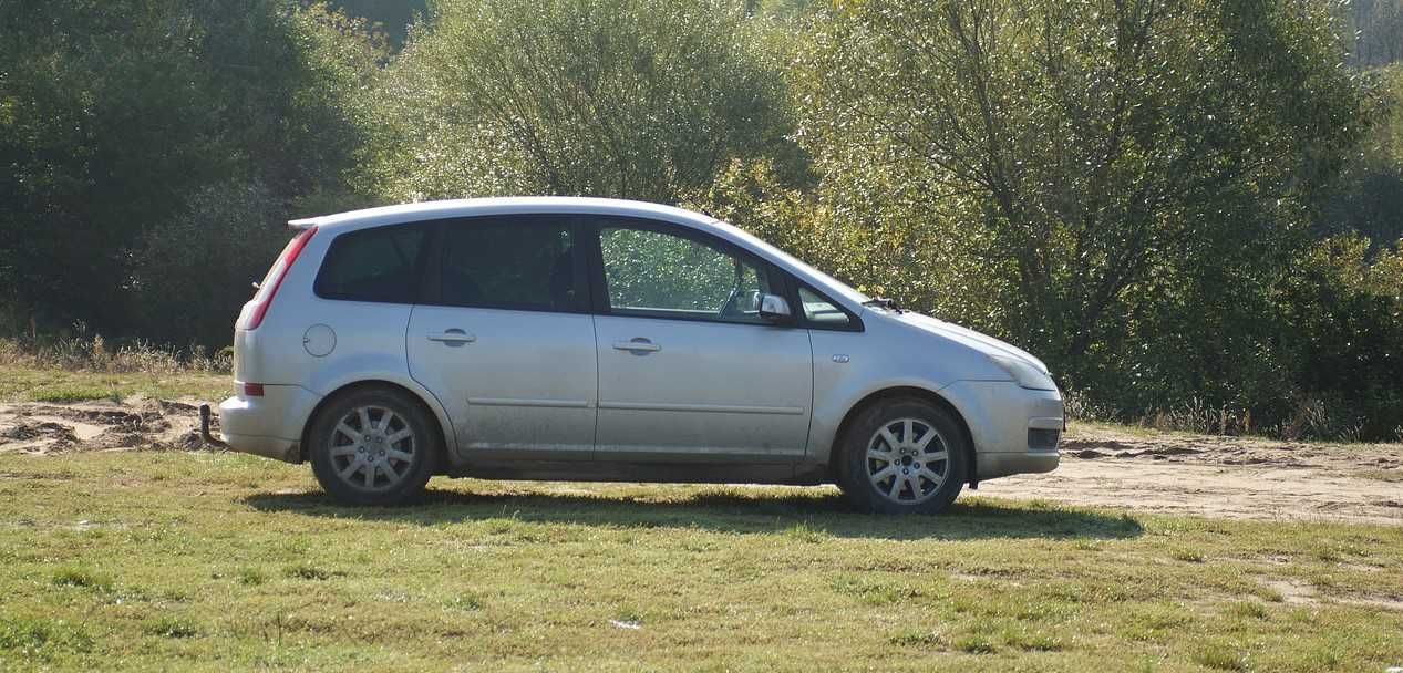 Parked Silver Car  in Santa Clarita, California | Kids Car Donations