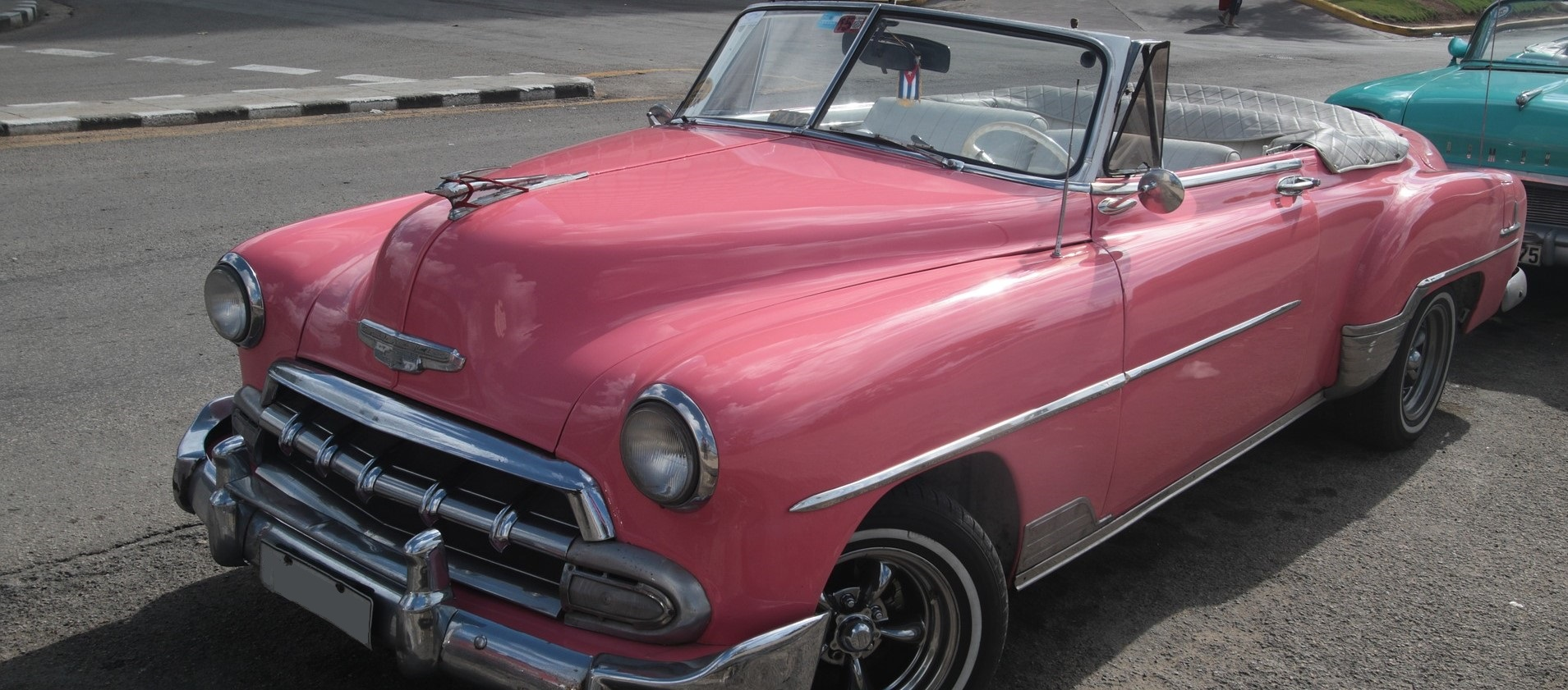 Pink Oldtimer Chevy in Bakersfield, California | Kids Car Donations