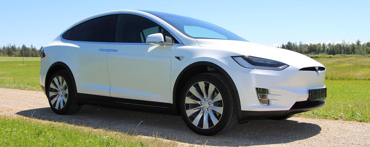 White Tesla Car | Kids Car Donations