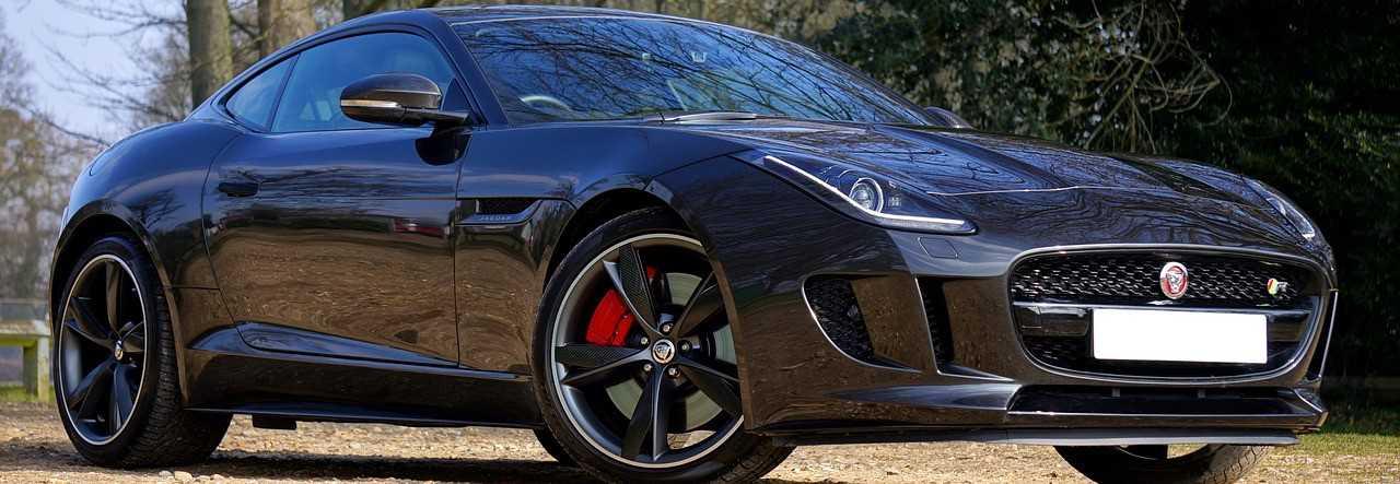 Black Jaguar Car in Riverside, California | Kids Car Donations