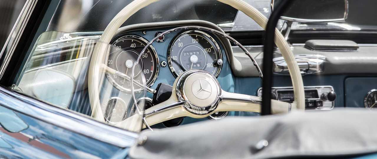 Classic Mercedes Car Interior   Kids Car Donations