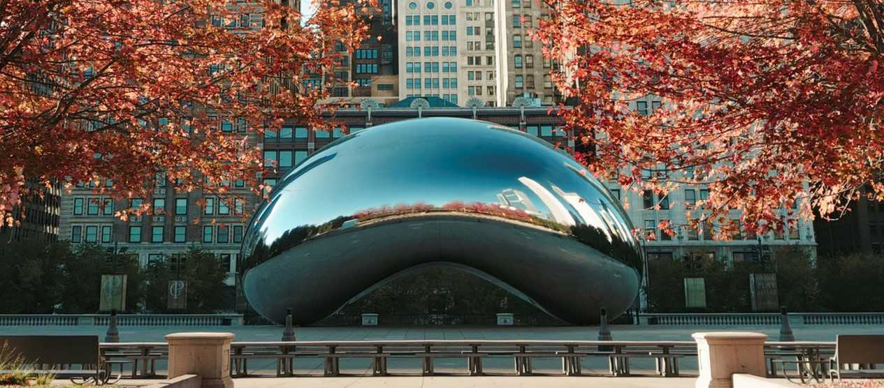 Cloud Gate in Chicago, Illinois   Kids Car Donations