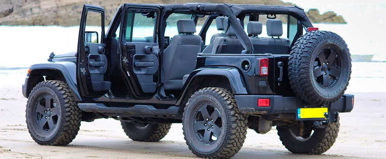 Parked Jeep in St. Petersburg, Florida | Kids Car Donations