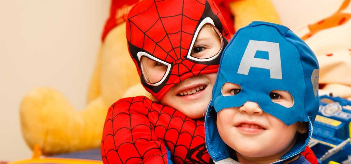 Kids Wearing Superhero Costumes | Kids Car Donations