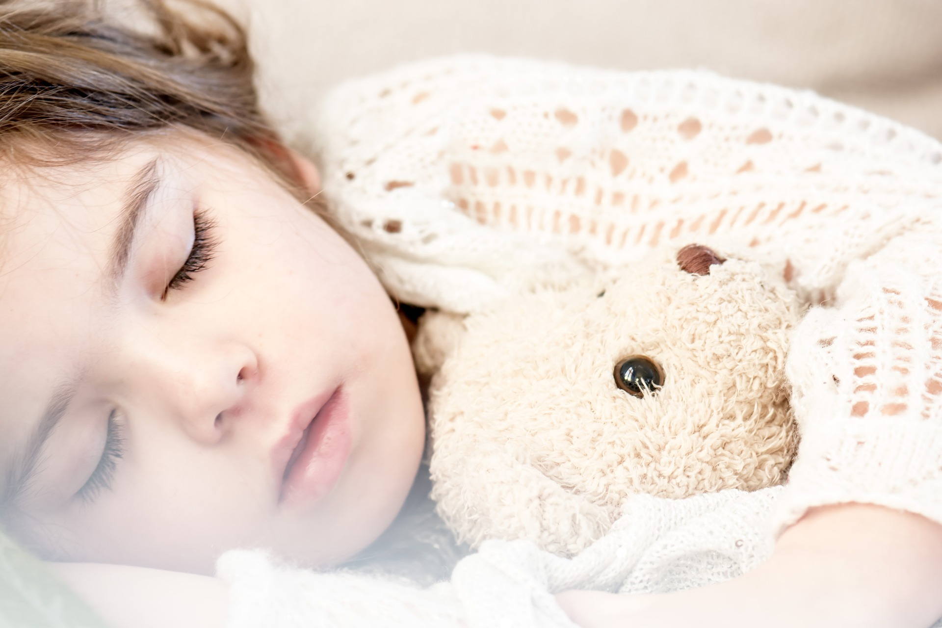 Little Girl Sleeping | Kids Car Donations