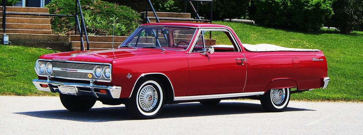 Red Chevy El Camino   Kids Car Donations