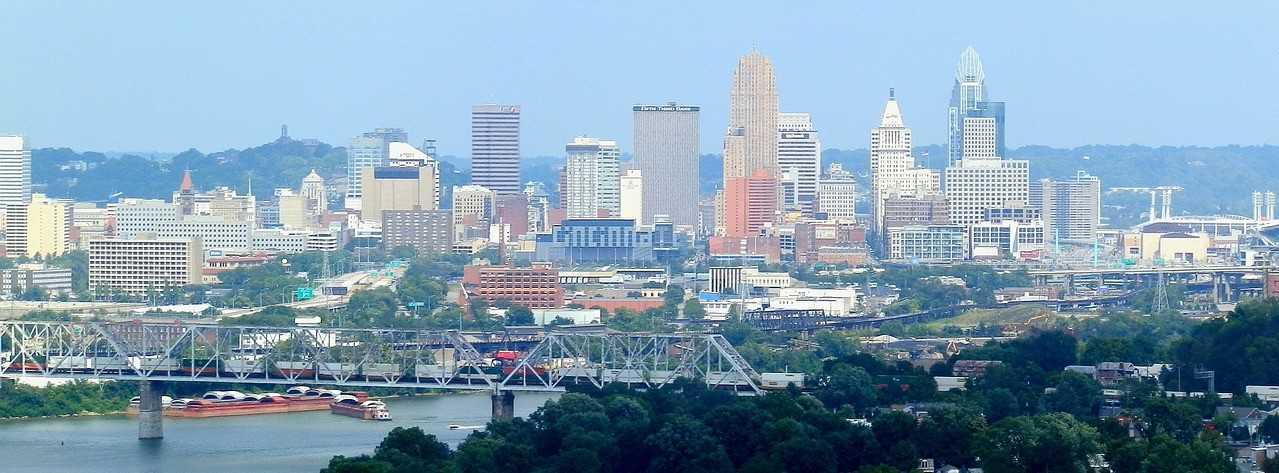 Cincinnati, Ohio Skyline   Kids Car Donations