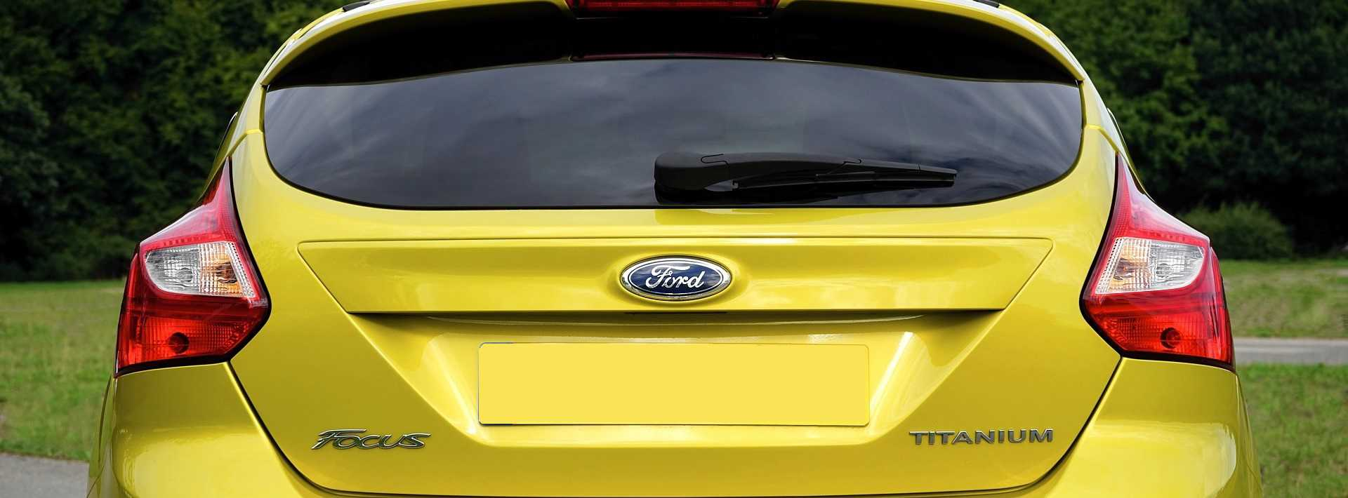 Yellow Ford Focus | Kids Car Donations