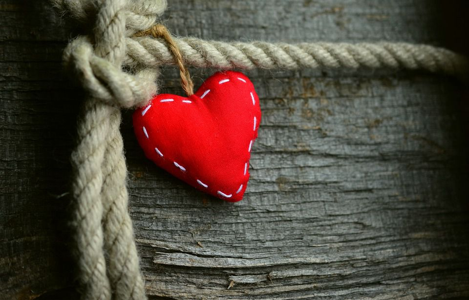 Heart-Shaped Cushion | Kids Car Donations