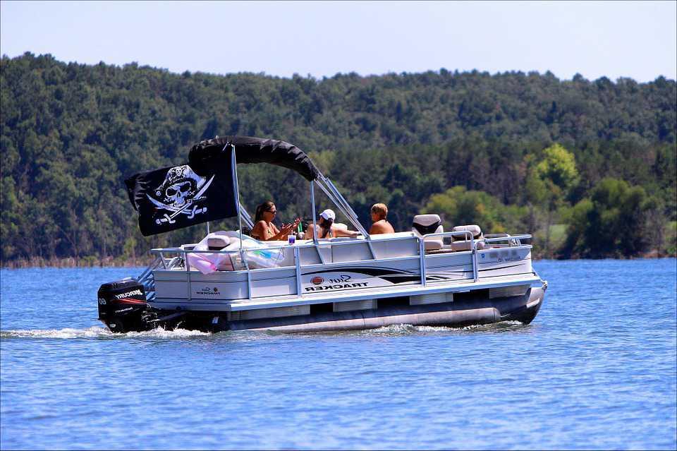 Riding Pontoon Boat on Summer   Kids Car Donations