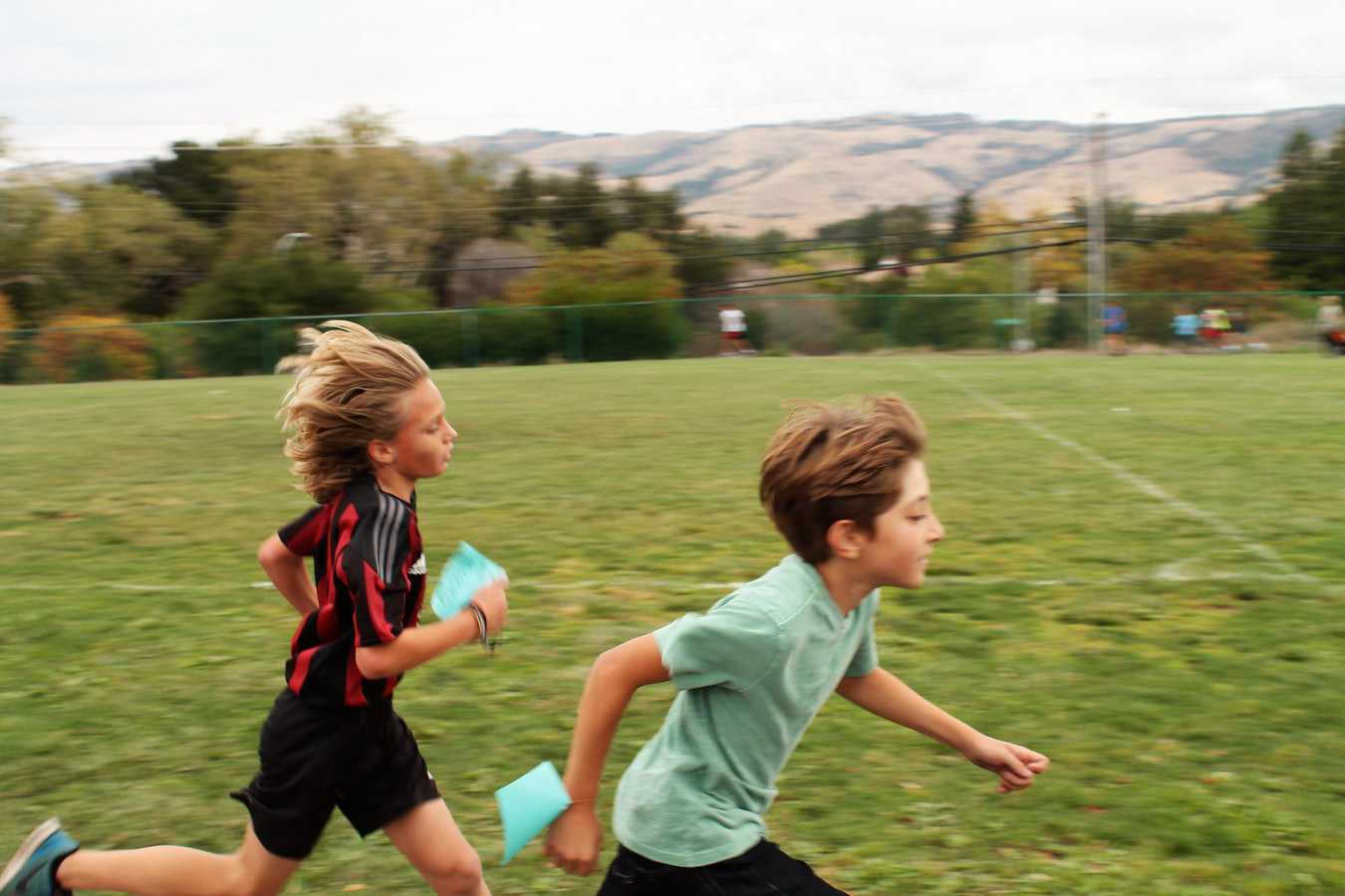 Kids Running on the Field | Kids Car Donations