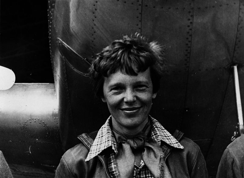 Amelia Earhart's Portrait | Kids Car Donations